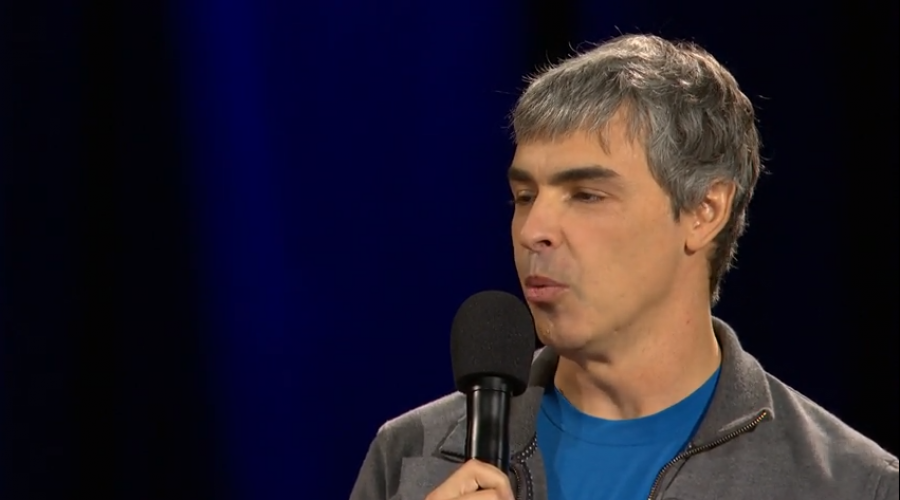 Larry Page on Electronic Medical Records @TED stage